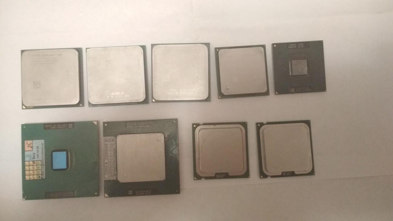 Процессор Intel Amd Celeron Pentium Core