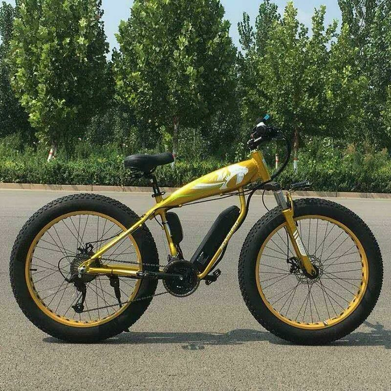 Электровелосипед Rarog FatBike bicycle