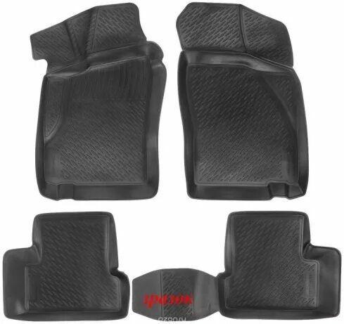 Коврики для салона Lada Locker BMW 5 (E60) (03-09) тэп комплект