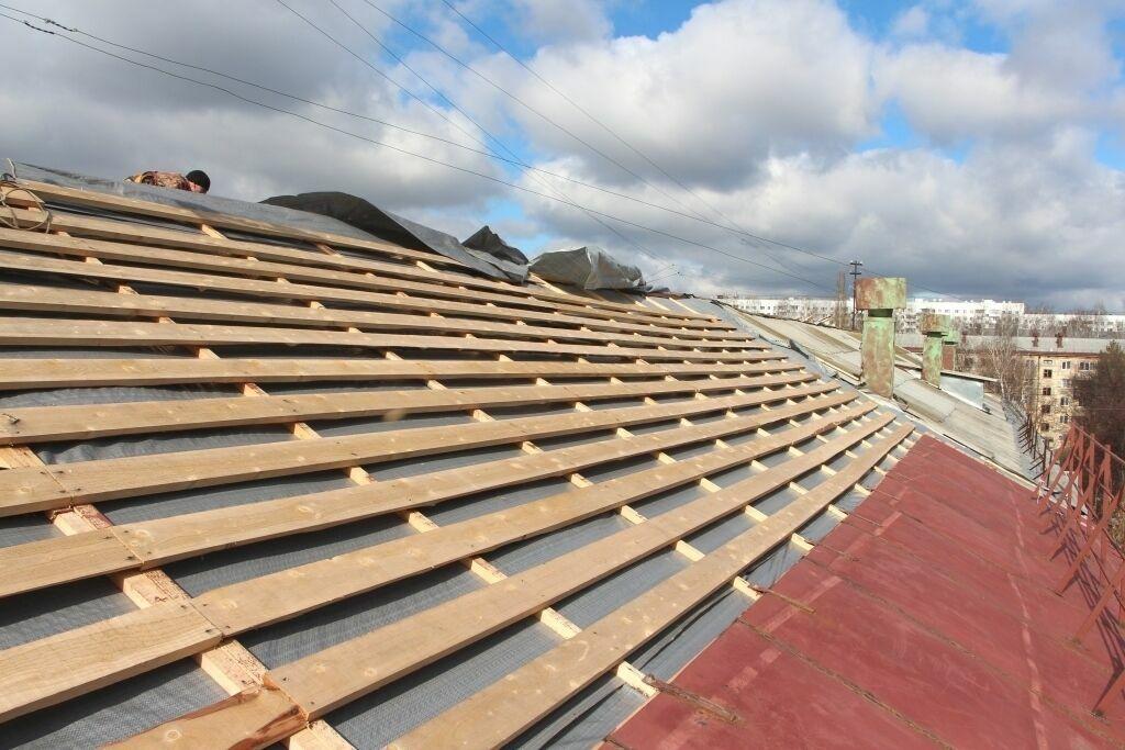 Ремонт крыши в харькове.реконструкция.утепление.