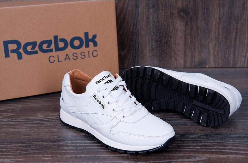 bd1f5c07 Мужские кожаные кроссовки Reebok Classic White Pearl: 950 грн ...
