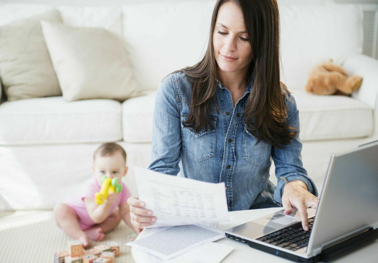 Работа для мамочек в декрете на дому картинки