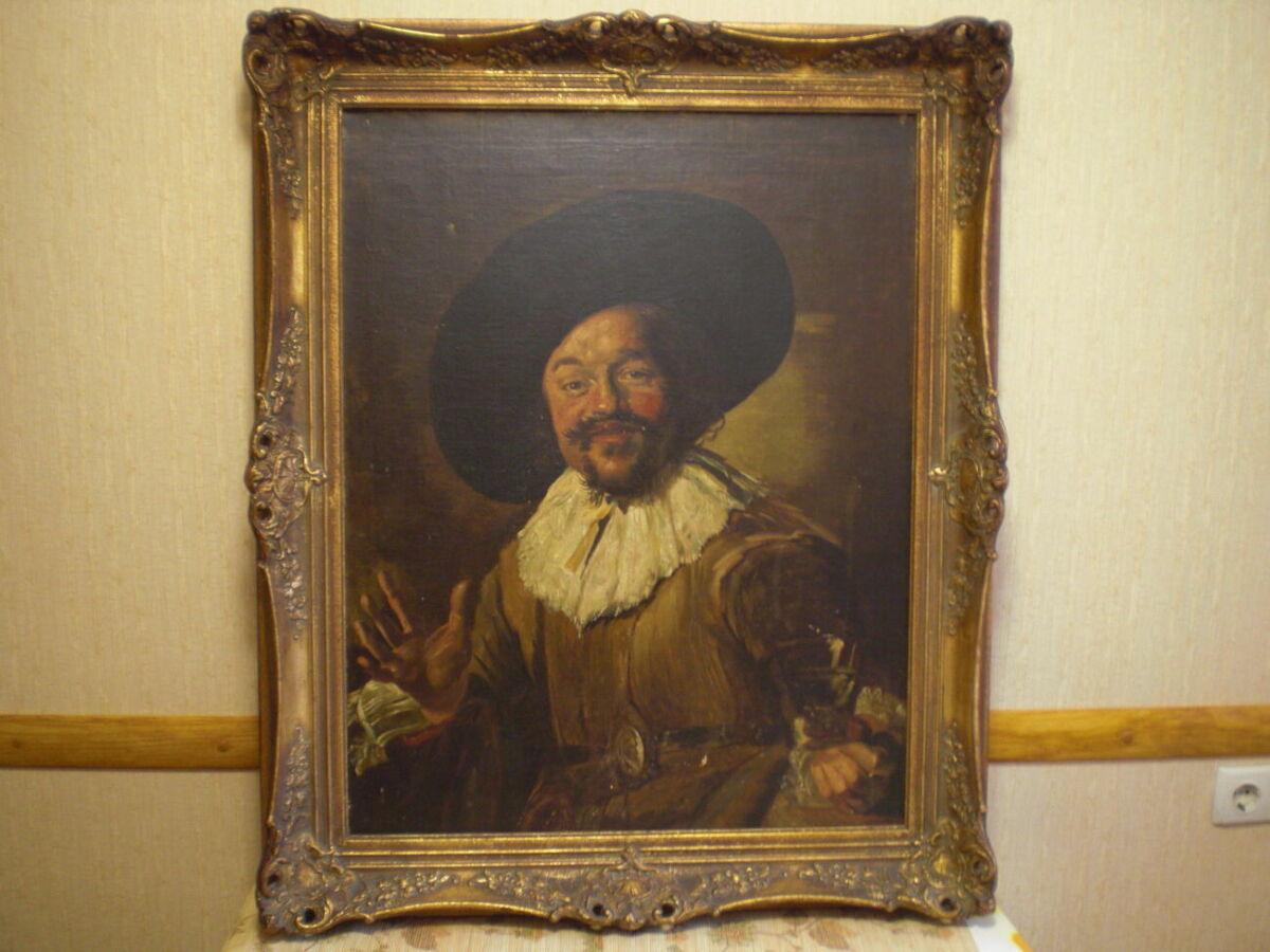 Картина копия старых мастеров,оригинал.