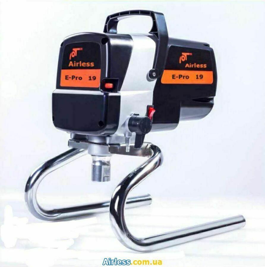 Безвоздушный краскопульт высокого давления E Pro-19 - DIY +удочка 0.3м