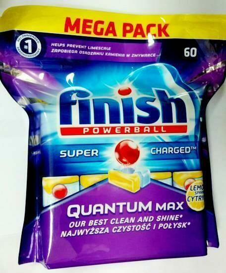 Таблетки Моющее средство для посудомоечной машины Finish Quantum MAX
