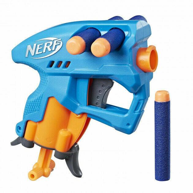 Бластер NERF Nano Fire (Нано Фаер) Голубой