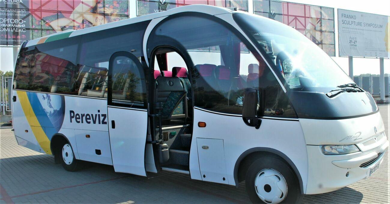 Оренда транспорту, пасажирські перевезення / легкові авто, автобуси