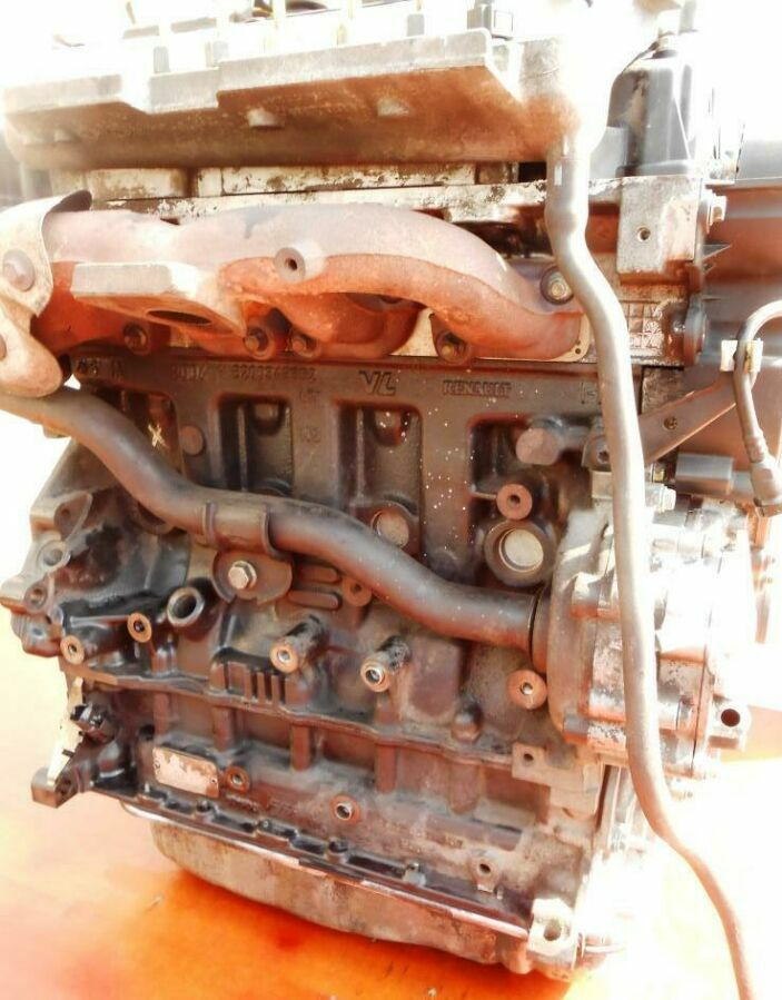 Двигатель Nissan Primastar 2.5 dCi G9U 630 (107 Квт) 2001-2011гг