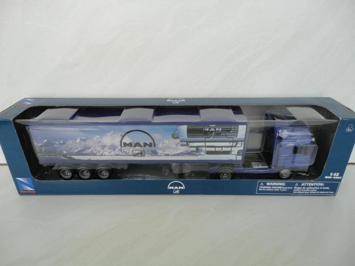 Вантажівка машинка авто MAN F2000 1:43 New Ray игрушка автомобиль