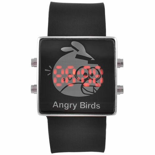 Часы наручные M210 LED Angry Birds