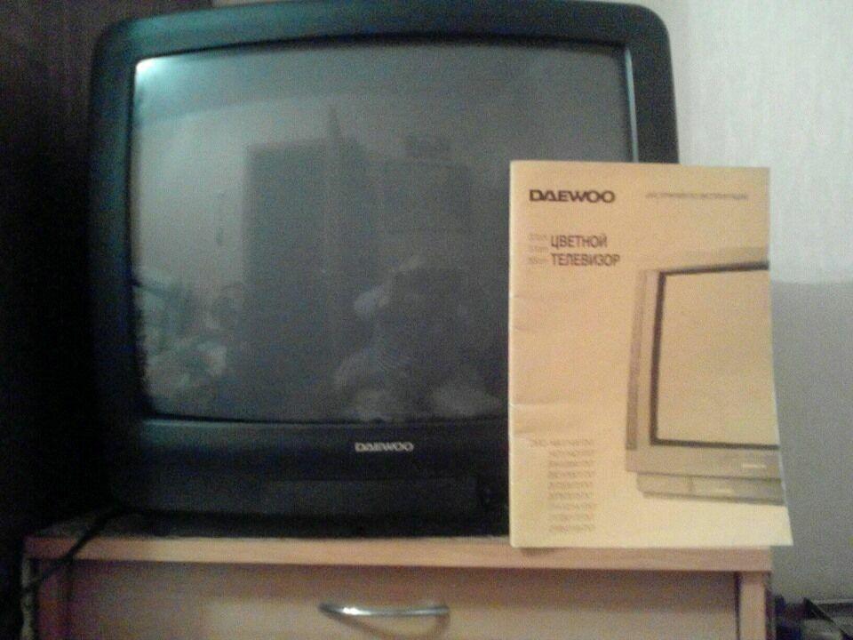 Продам цветной телевизор Daewoo