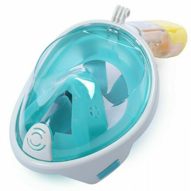 Маска для плавания FREE BREATH L/XL с креплением на камеру (L/XL FB01)