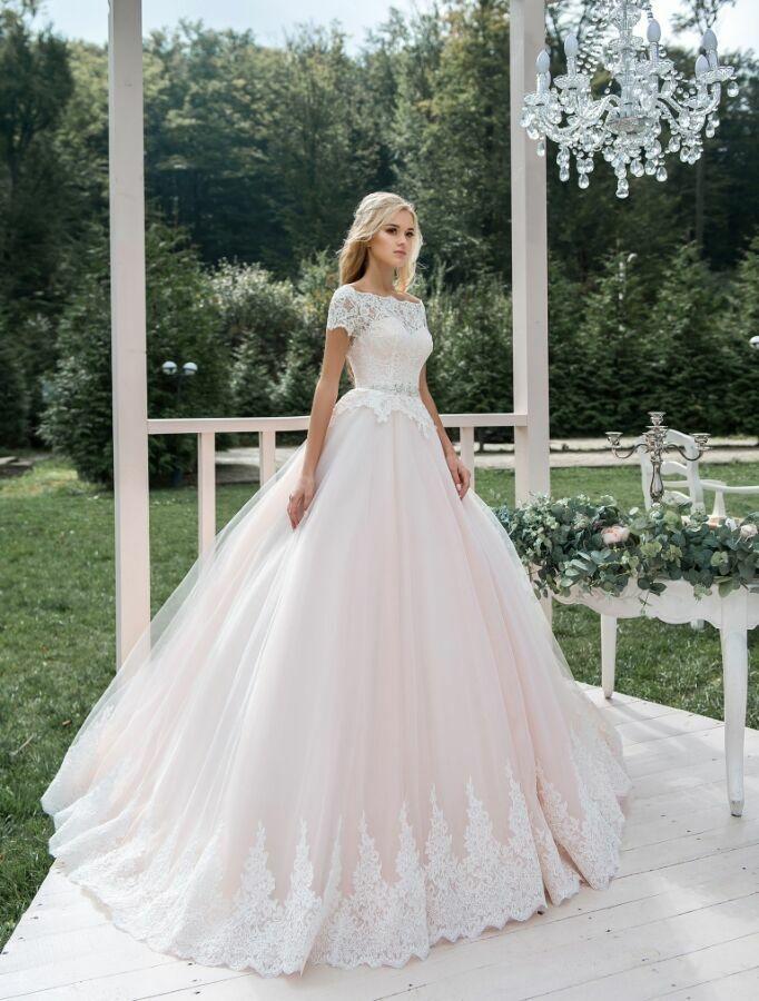 605ffa755f0cca6 Розовое свадебное платье на свадьбу: 12 000 грн. - Свадебные платья ...