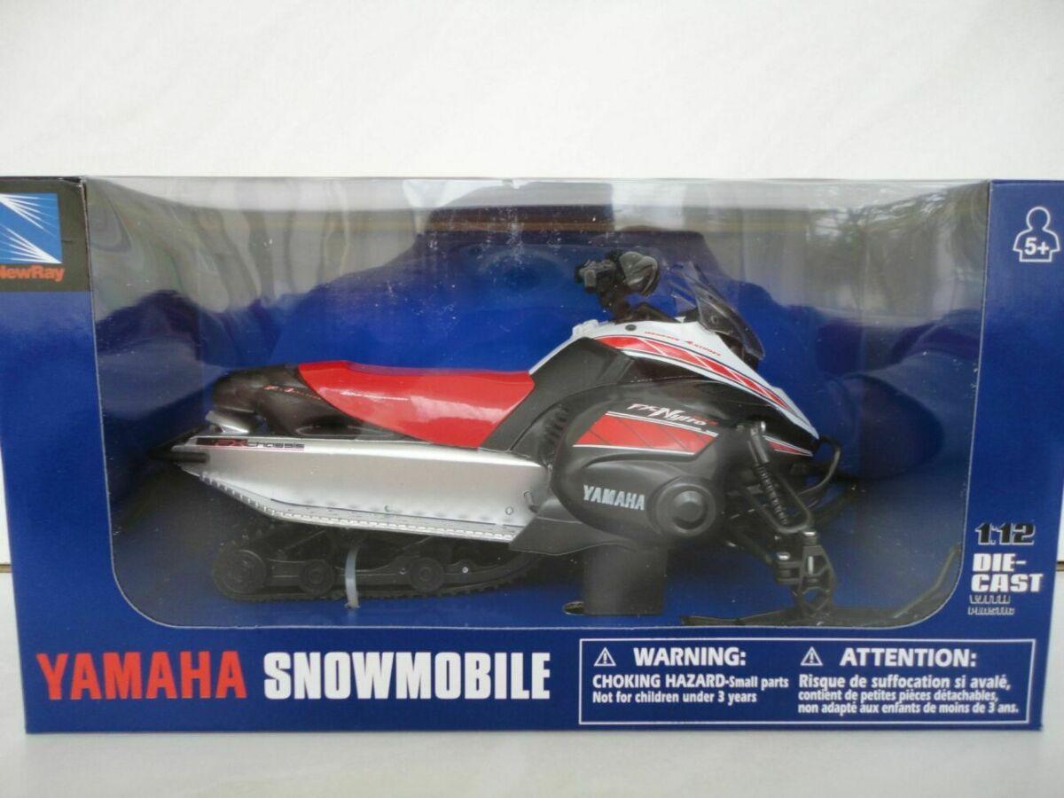 Модель снігохід 1:12 Yamaha FX New Ray мотоцикл игрушка квадроцикл