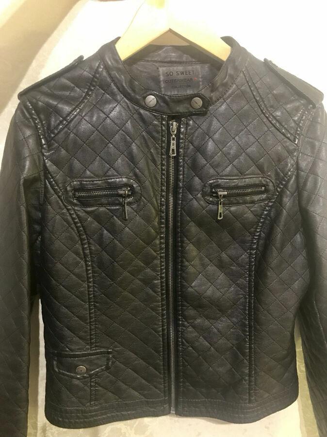 Куртка с эко кожы   500 грн. - Куртки Одеса - оголошення на ... bf782d2042751