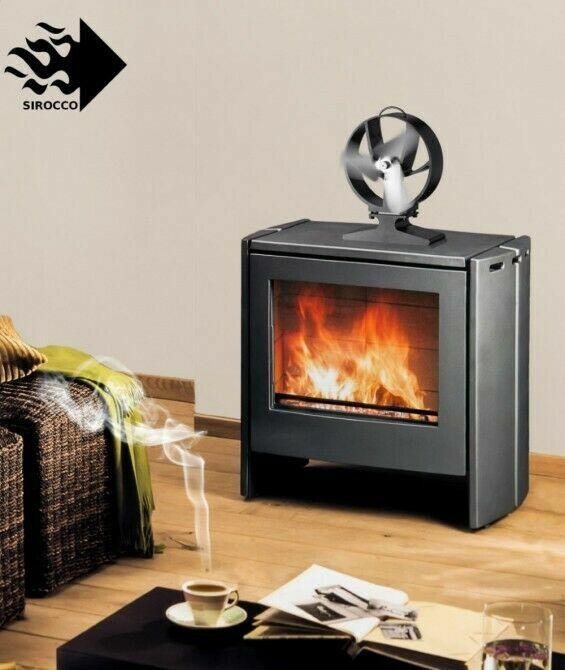 Термоэлектрический вентилятор для печей и каминов Hansa