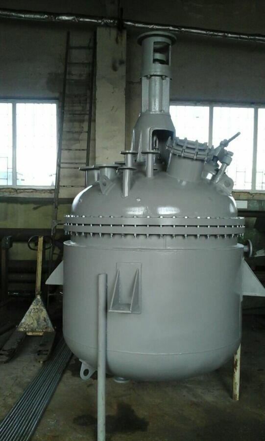 Реактор из нержавеющей стали 2 м3, емкости, сборники.