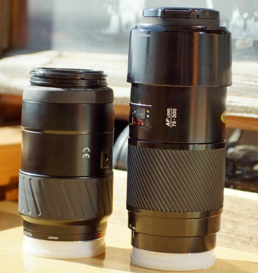Minolta AF 75-300mm F4.5-5.6 NEW