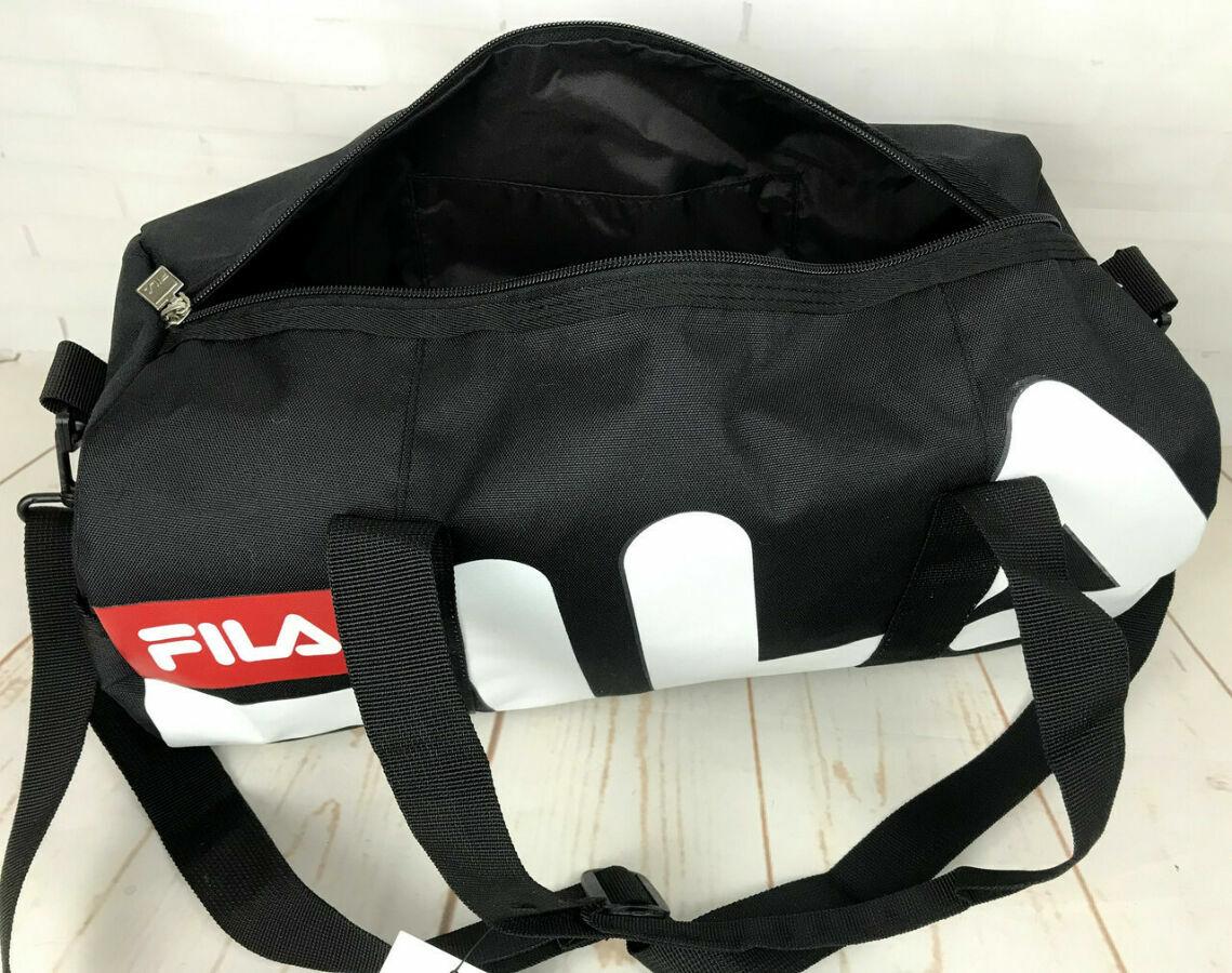 0ea996e09c05 Небольшая красивая спортивная сумка бочонок Fila. Раз.44см на 23 ...