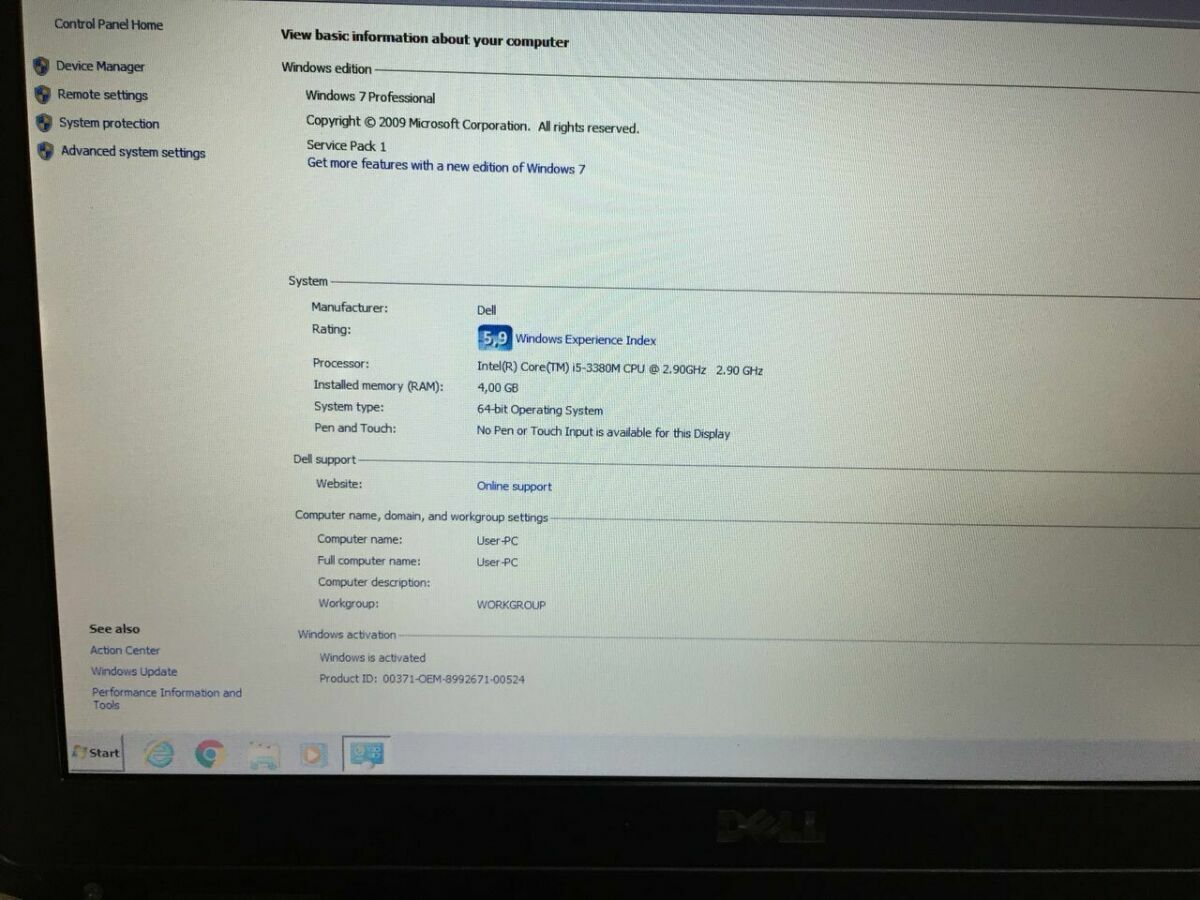 Гарантия 6 мес! Ноутбук Dell Latitude e6430 ATG i5 14