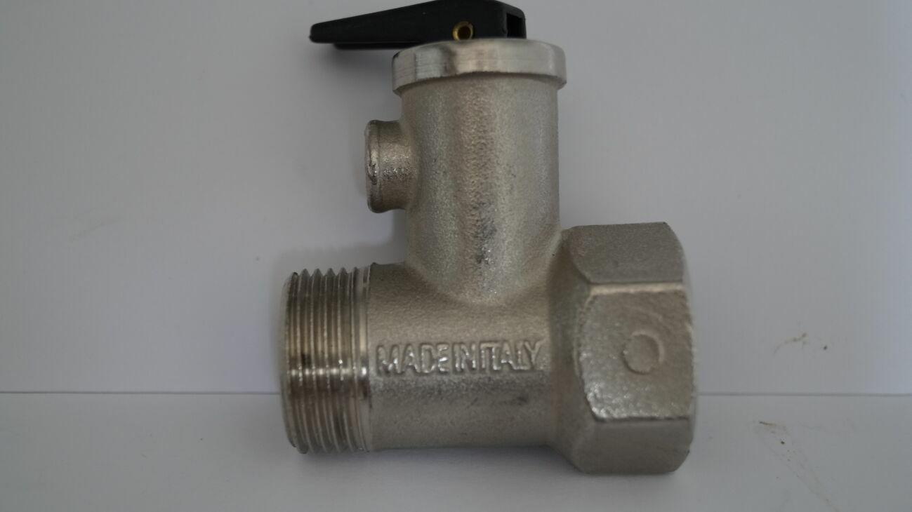 предохранительный клапан для болера с рычагом  3/4 italia