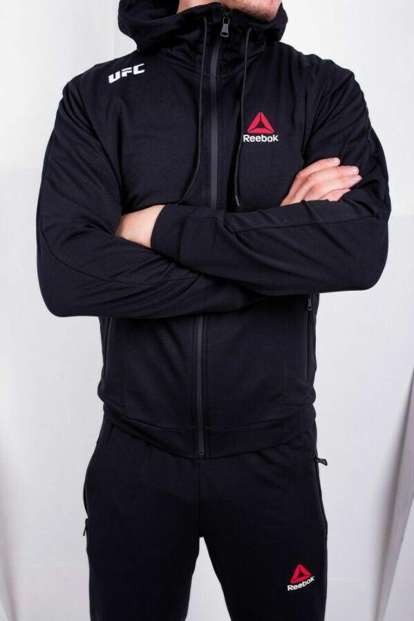 34e214e882dce8 Купить сейчас - Спортивный костюм Reebok UFC черный: 950 грн ...