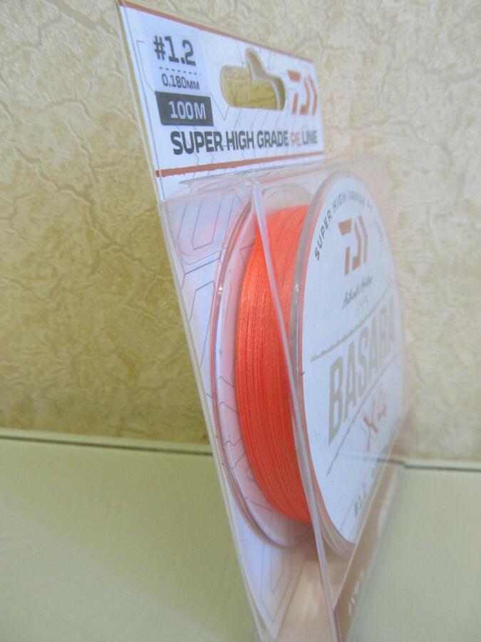 Шнур рыболовный плетня DAIWA оранжевый