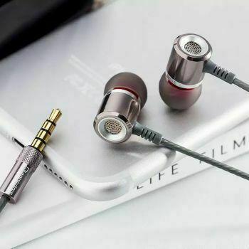 металлические наушники для телефона Super Bass