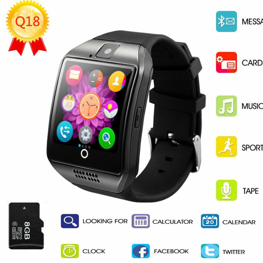 Smart Watch U8 - умные часы, работающие в паре с вашим смартфоном на android или ios