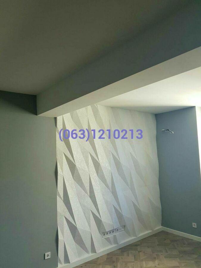 3d панели. монтаж, отделка и покраска