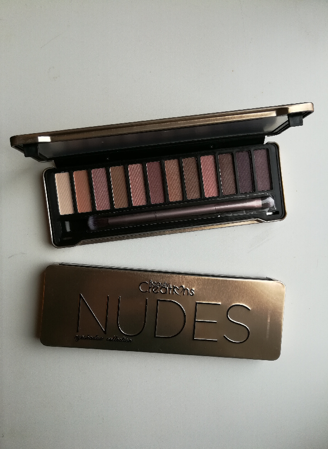 Тени Beauty Creations Nudes Eyeshadow Palette (12 оттенков)