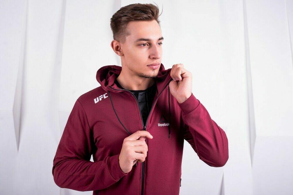 01c0cd10121c Спортивный костюм Reebok UFC бордовый