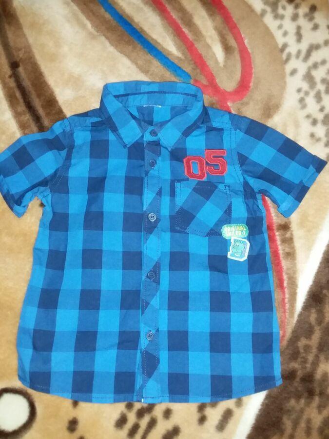 Рубашка детская F&F 100% коттон