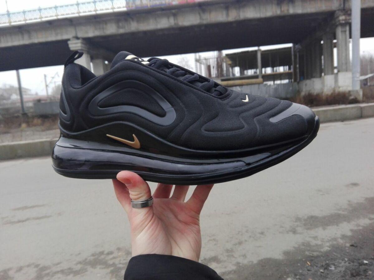 166db6da Купити зараз - Чоловічі кросівки nike air max 720 black/gold: 1 717 ...