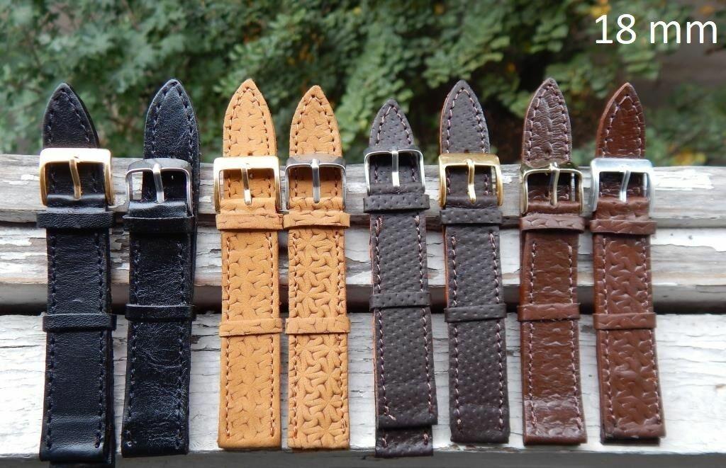 Кожаный ремешок для часов мужской, новые кожаные ремешки опт и розница