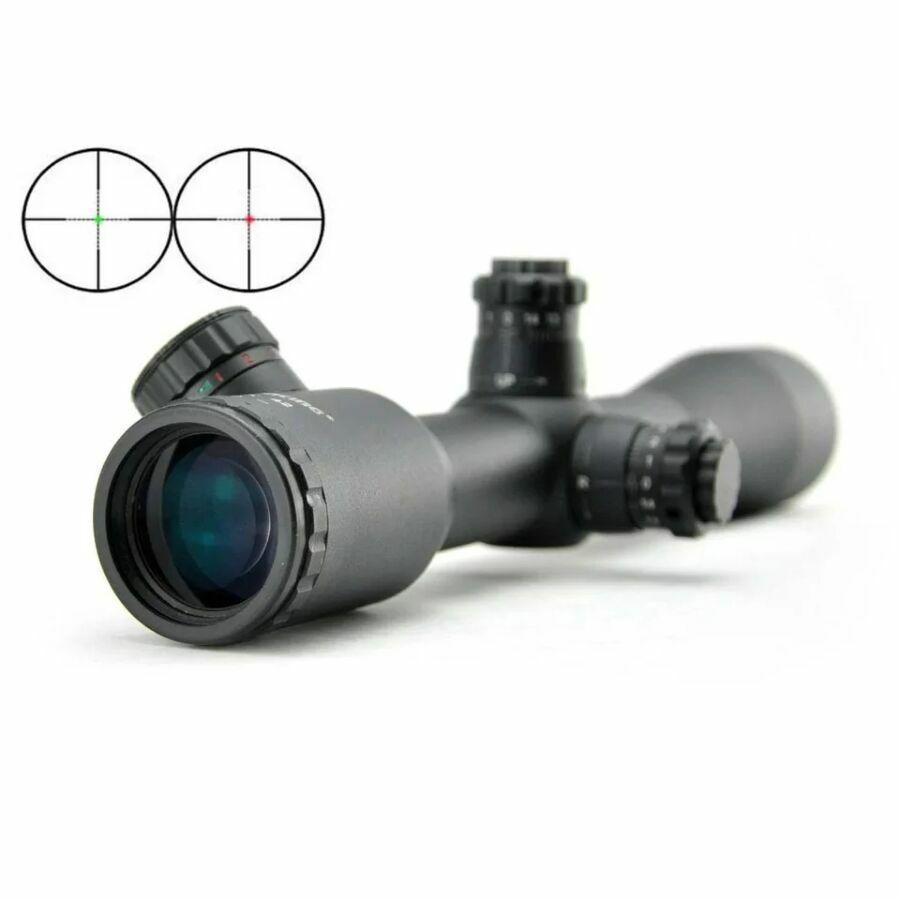 Оптический прицел/visioking 6x42 Mill-dot труба-30мм. + кольца 20мм