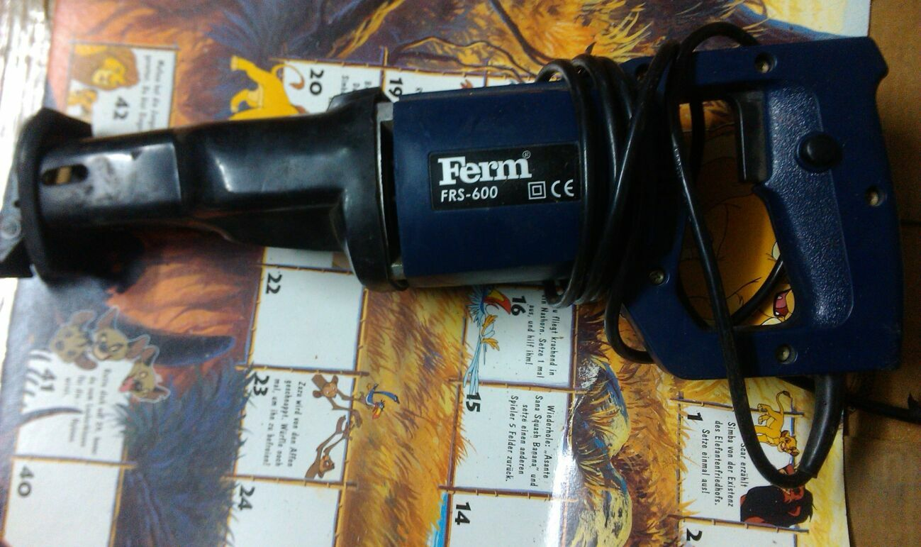 Сабельная пила Ferm FRS-600