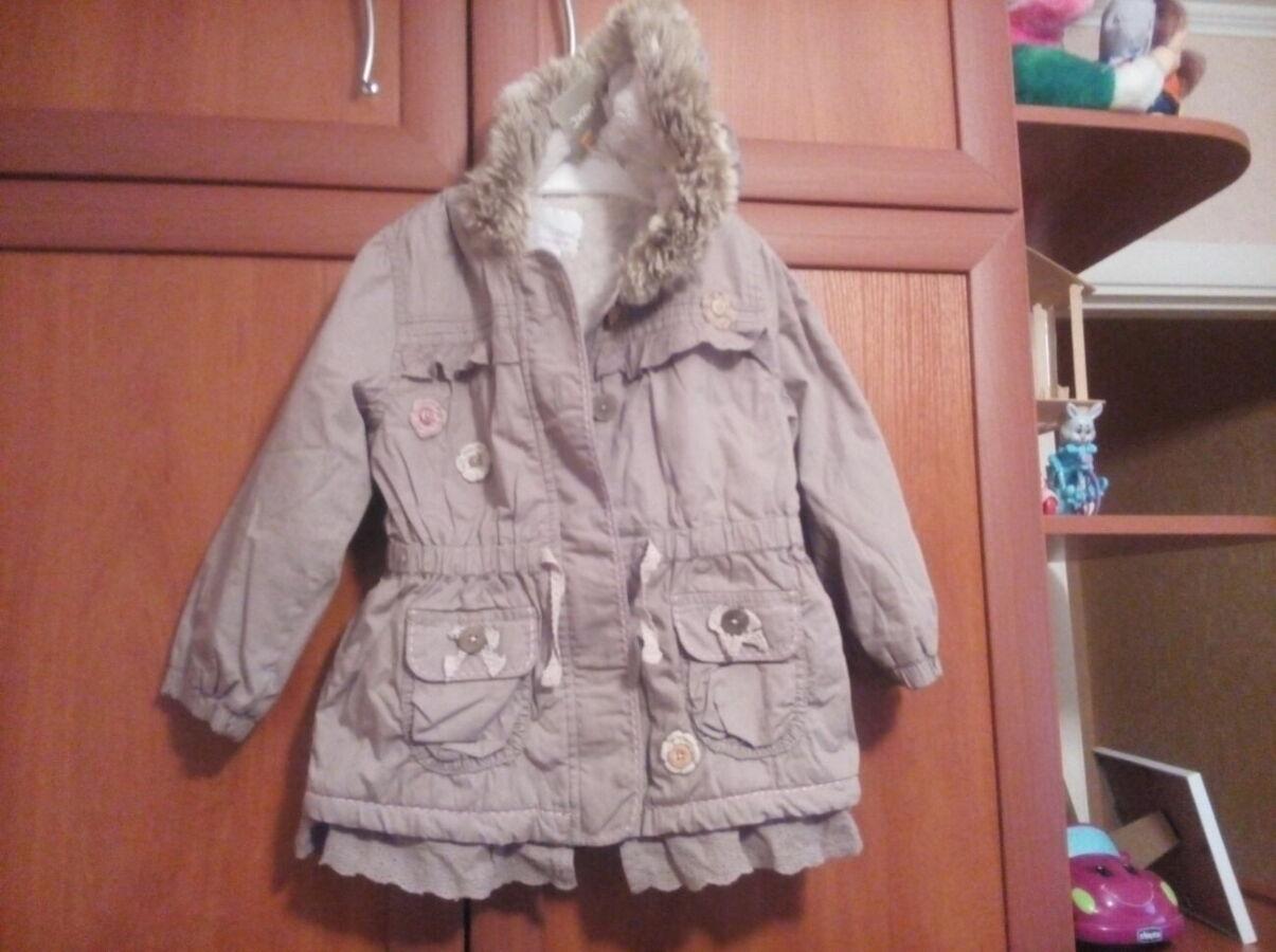 Новая курточка на девочку NEXT. Разм.=104.