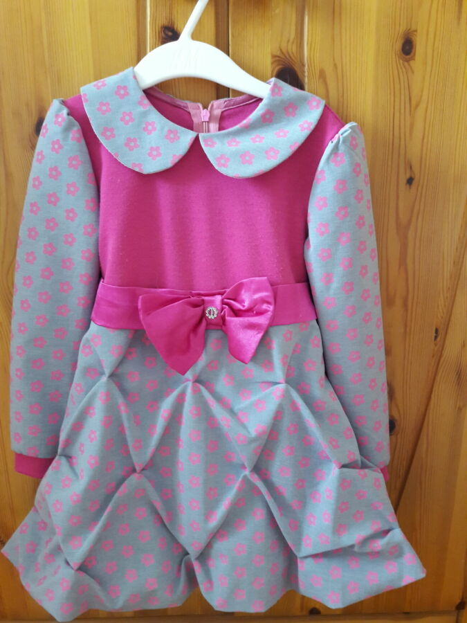 детские платья 86-116