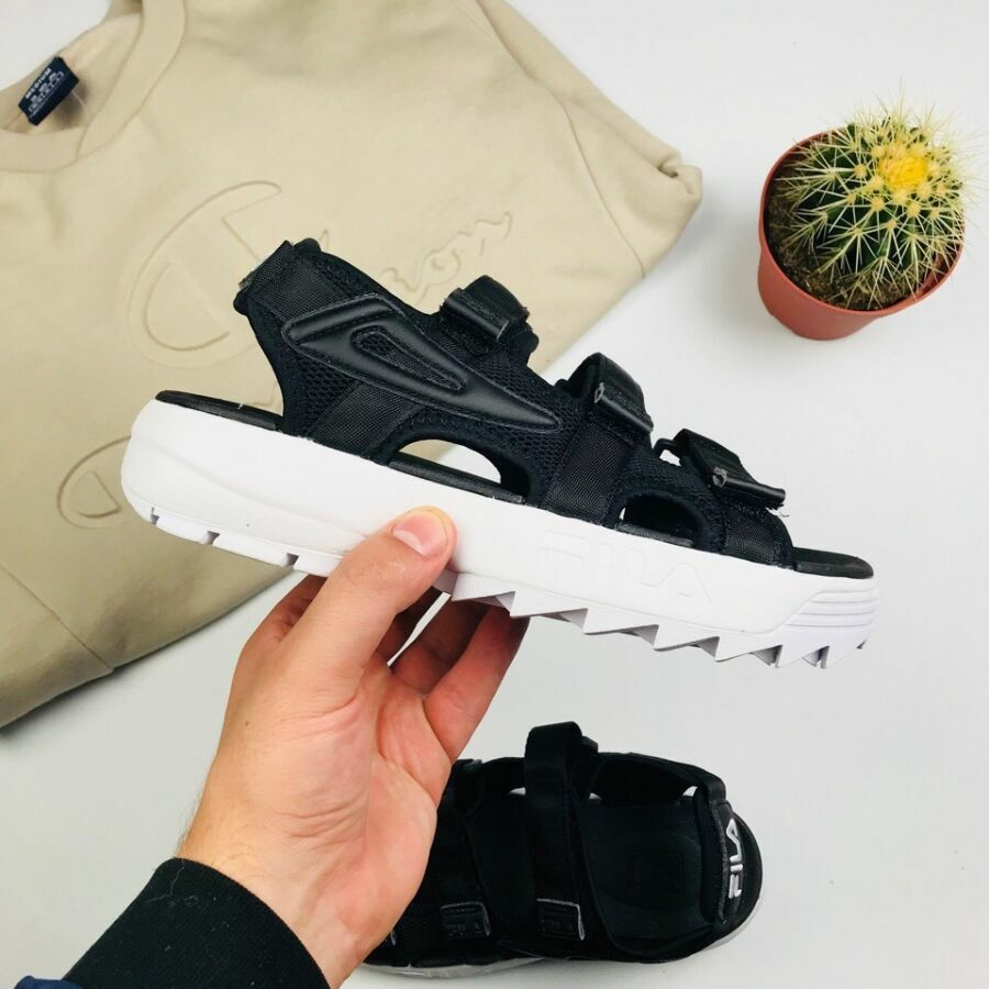 "Мужские Fila Disruptor Sandals ""Black"""