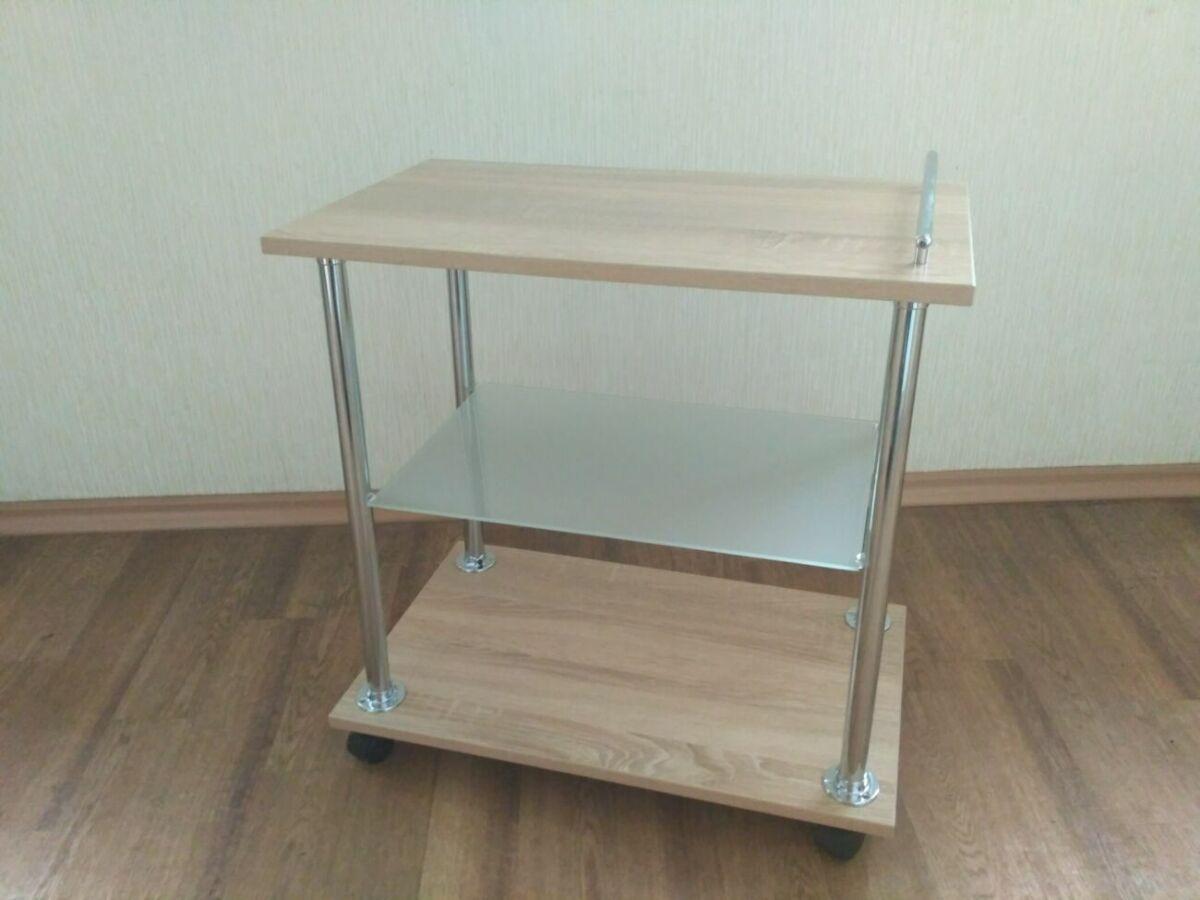 Сервировочный прикроватный передвижной столик на колесиках\роликах