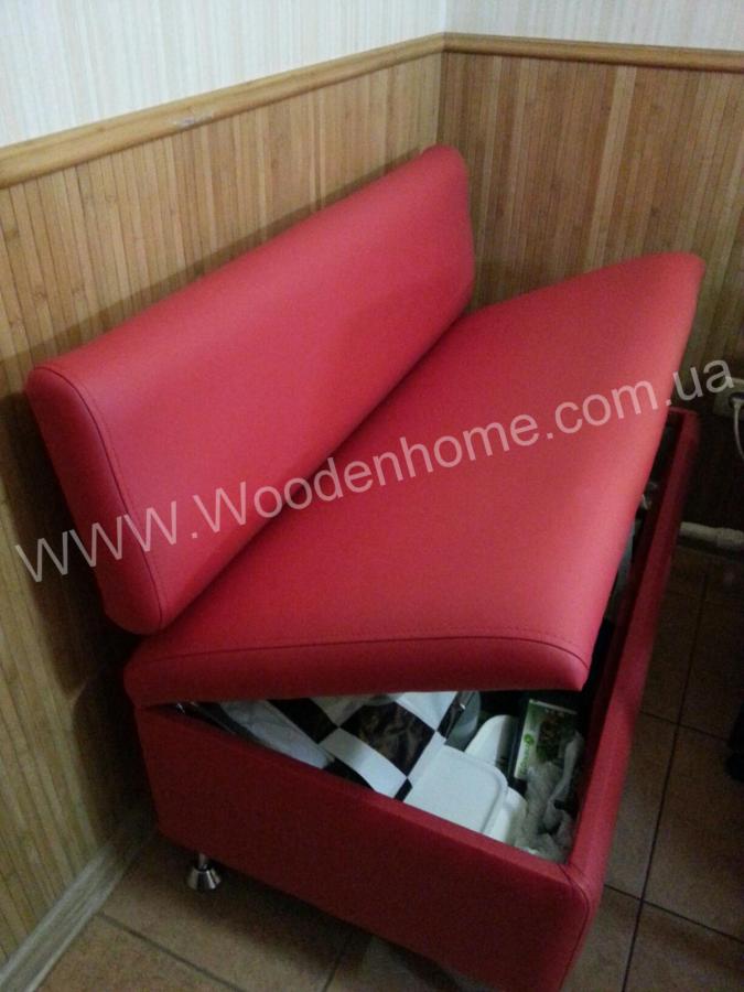 Диван кухонный офисный с ящиком для хранения