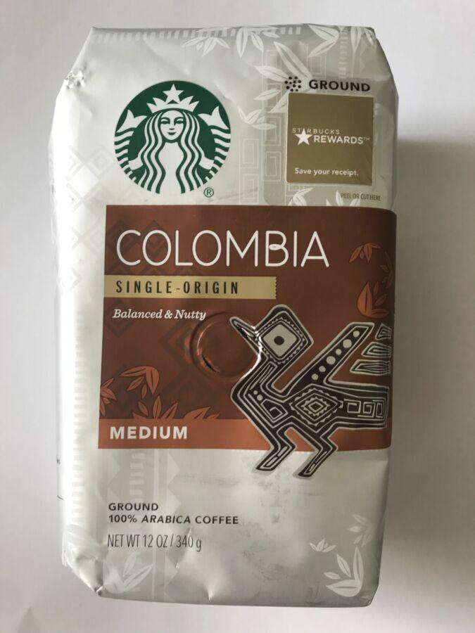 Кофе Starbucks Colombia 340 гр/ кава старбакс з сша, америки