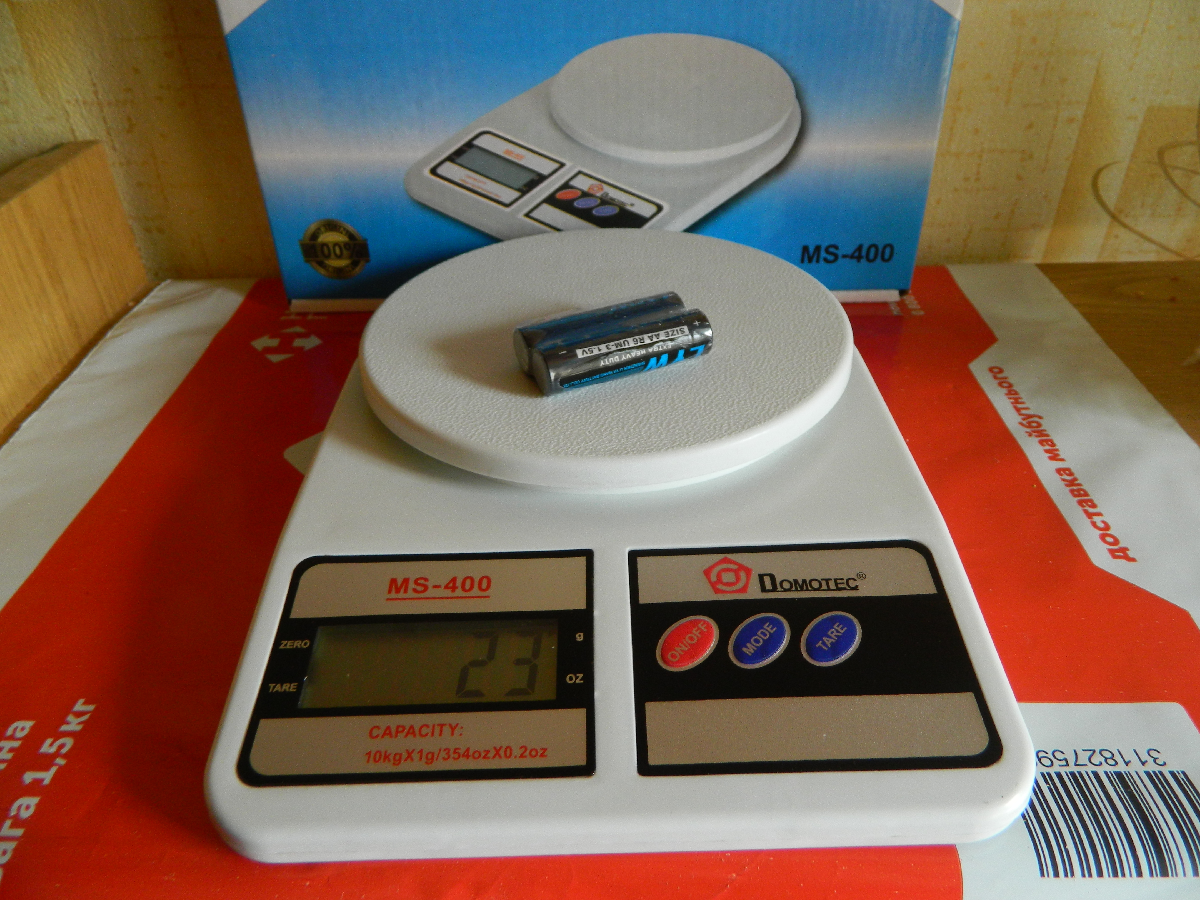Весы кухонные Domotec MS 400 г до 10 кг + подарок USB led фонарик