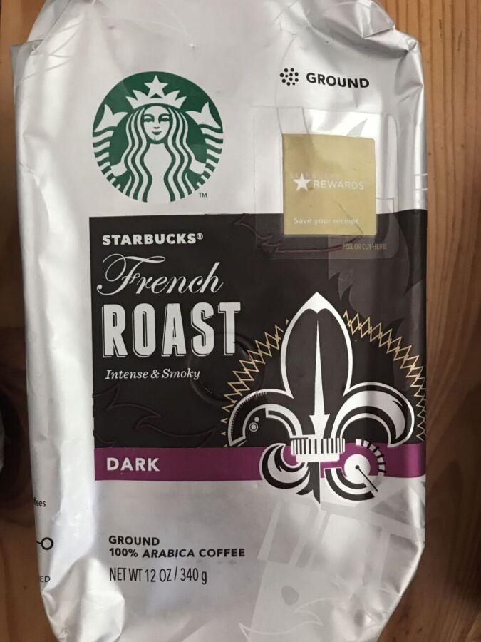 Кофе сша Starbucks French Roast молотый 340 гр кава старбакс америки