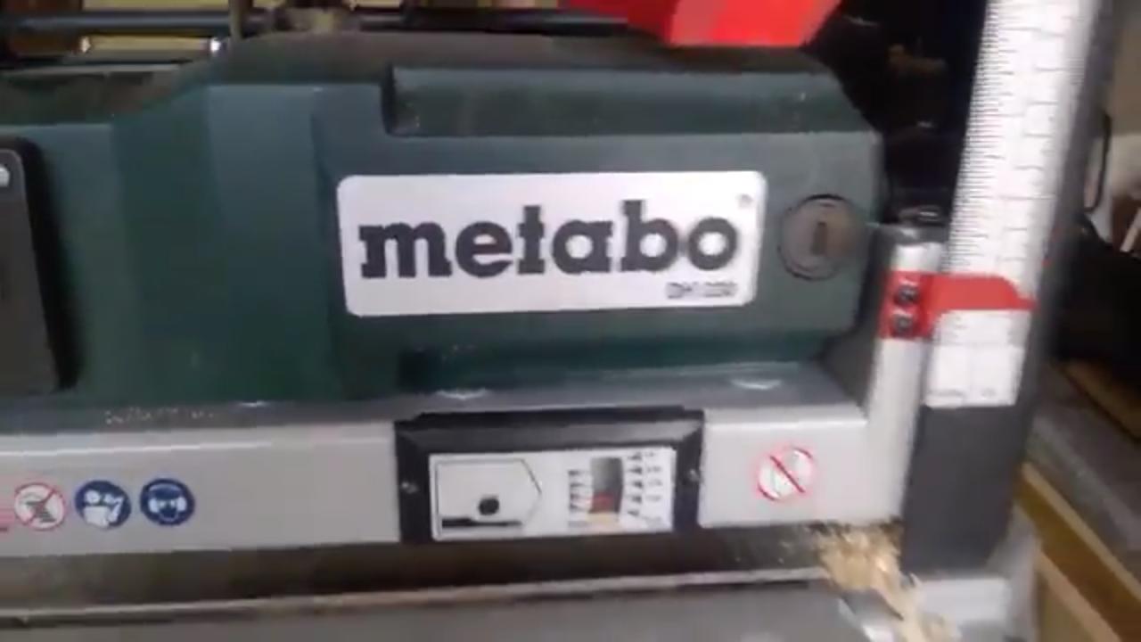 Односторонний рейсмусовый станок Metabo DH 330