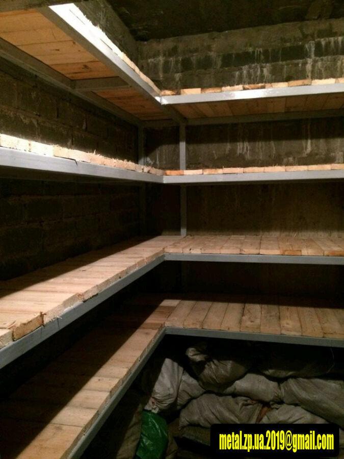 Изготовление стеллажей, лестниц и прочих металлоконструкций