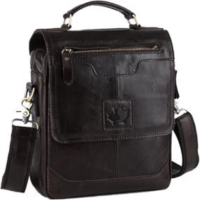 Кожанная сумка-планшет CANADA MONREAL