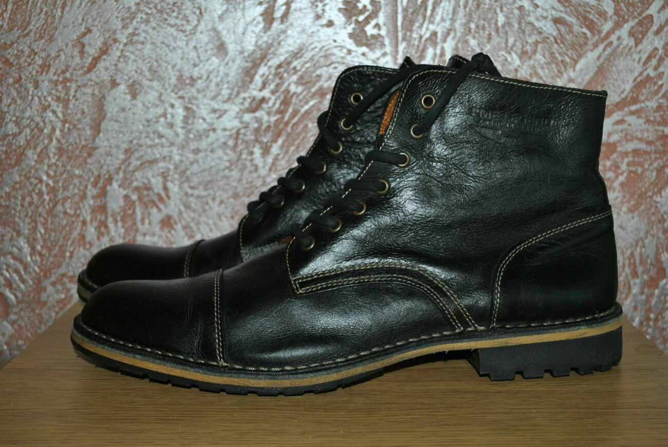 Лот №0867 Кожаные демисезонные ботинки Pme Legend (размер 46)