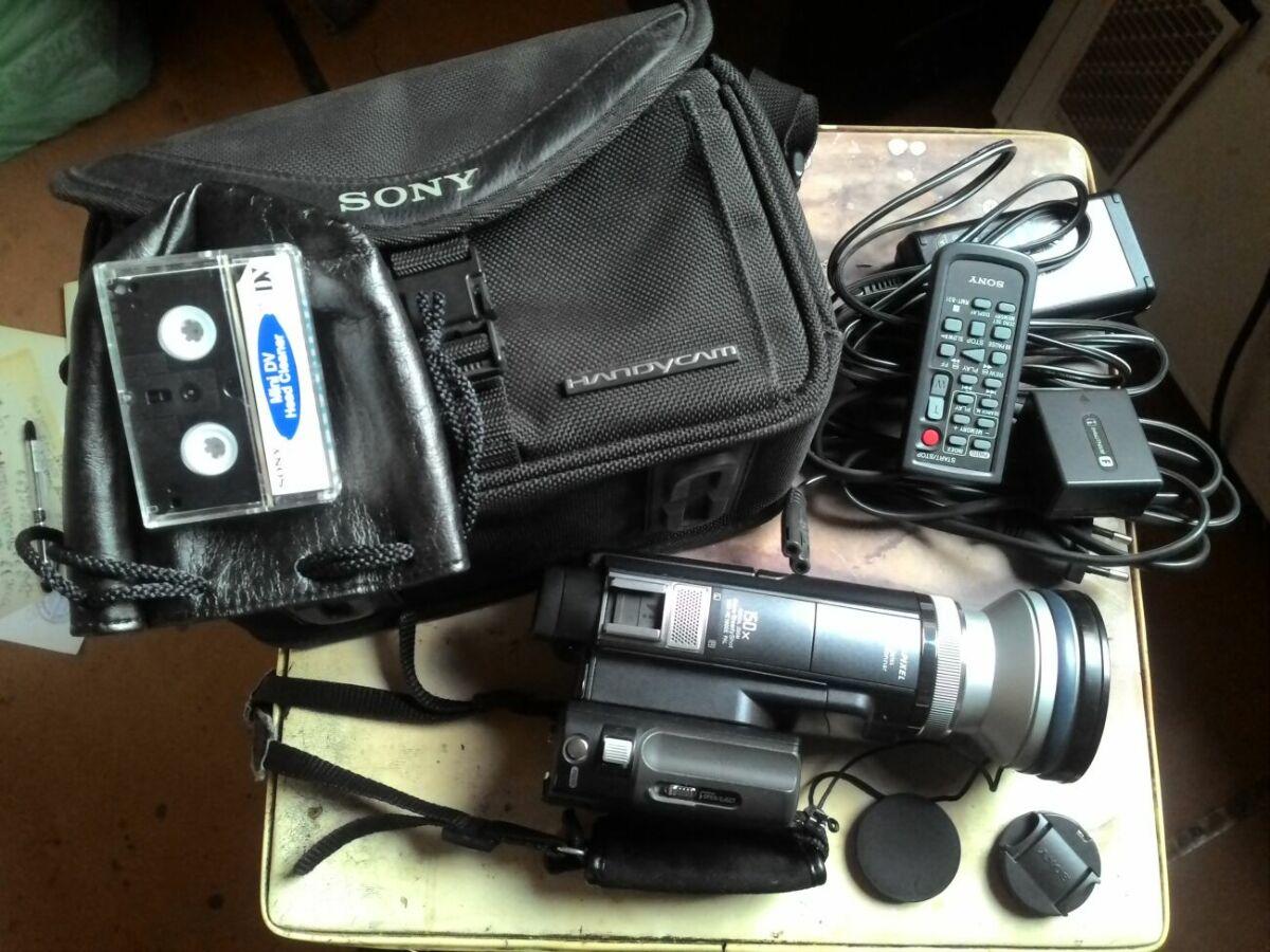 Видеокамера sony DCR-HC1000E DV 3CCD